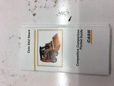 2002 Case Skid Steer competitive Comparison pocket guide