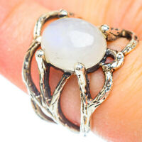 Rainbow Moonstone 925 Sterling Silver Ring Size 7 Ana Co Jewelry R51025F