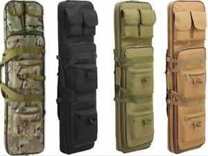 """37""""38""""39""""47""""Tactical Hunting Military Heavy Duty Rifle Gun Case Padded Backpack"""