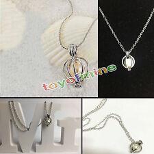 Un ensemble boîte love wish pearl collier oyster drop pendentif pour