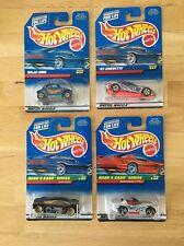Four Hot Wheels Cars, Corvette, Baja Bug, Dash 4 Cash Cars New Unopened