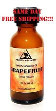GRAPEFRUIT ESSENTIAL OIL by H&B Oils Center AROMATHERAPY GLASS BOTTLE 1 OZ 30 ml
