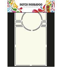 Flex-Schablone Stencil Swing card art Circle Kreis A4 Dutch Doobadoo 470.713.301