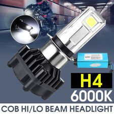 Moto H4 H6 BA20D 6000K LED Luce Fari Headlight Hi/Lo Beam Lampadine 35W 3500LM
