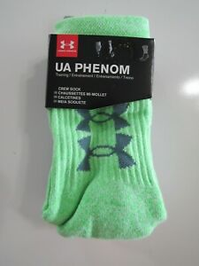 Under Armour Youth Crew Socks 3 Pack 13.5K-4Y Nwt