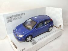 "Ford Focus SVT Blue Die Cast Metal Model Car 5"" Kinsmart Collectable New"