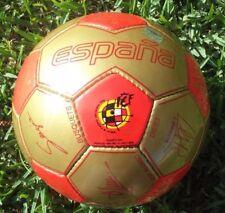 Ball Spain Federación Española de Fútbol Oficial Firmas Campeones del Mundo