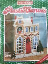 "Distlefink ""Victorian House Doorstop"" Plastic Canvas Kit Size 8"" x 2 1/2"" x 11"""
