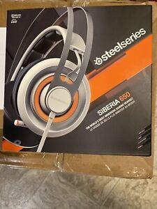New SteelSeries Siberia 650 Headset, White-