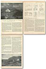 1954 Cottage At Ardnagreevah County Galway, Alexander Gibson Architect