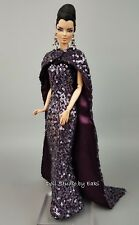 Eaki Amethyst Silkstone Barbie Fashion Royalty Evening Dress Outfit Gown FR