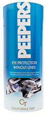 Peepers Tanning Bed  Eyewear Goggles 72 Pair with Display  FDA APPROVED