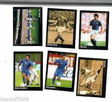 6 FIGURINE N°27-69-87-124-154-167=SUPER ALBUM IN AZZURRO=PANINI MODENA
