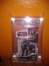 Star Wars Dark Trooper Phase 1 AFA 9.0 + McQuarrie Snowtrooper AFA 8.5 RARE HTF