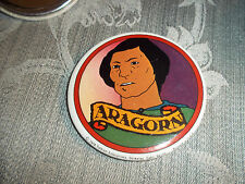 "1978 Tolkien Enterprise ""Lord of the Rings"" Ralph Bakshi ""Aragorn"" 3"" Button"