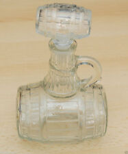 Schnapsfass Whiskyfass aus Glas Glasfass 0,5 Liter  NEU mit Plasikverschluss TOP
