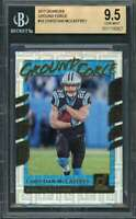 Christian Mccaffrey Rookie Card 2017 Donruss Ground Force #18 Panthers BGS 9.5
