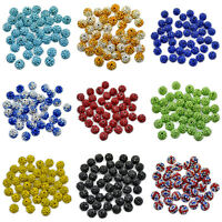 125 Czech Glass Round Pointback Rhinestones Red 7mm Unfoiled