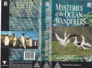 MYSTERIES OF THE OCEAN WANDERS VHS  VHS VIDEO PAL~ A RARE FIND~