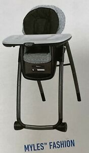 Graco Table2Table Premier Fold High Chair 7-in-1 Convertible Myles Fashion