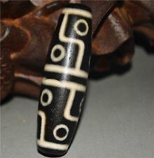necklace gzi eyed tibetan dzi bead old amulet nepal 12 eyes genuine zee antique