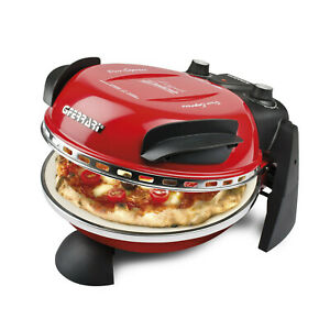 Forno Pizza Elettrico 1200w Delizia G3f Rosso G3FERRARI G1000602 Forno Pizza Ele