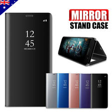 New Slim Cover Luxury Mirror Flip Case Stand for Samsung Galaxy A5 2017 A8 2018
