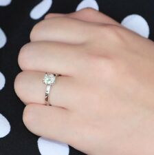 2.45Ct White Round Cut Diamond Wedding Engagement Ring In Certified 14K Gold.