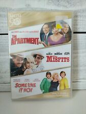 Some Like it Hot, The Misfits, The Apartment, Dvd Movie Set