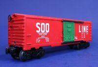 Lionel O Scale Soo Line Box Car w/ Green Doors 9207