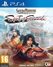 Samurai Warriors: Spirit of Sanada (PS4) VideoGames ***NEW***