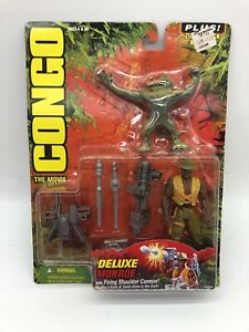CONGO The Movie 1995 Deluxe Monroe w/ Firing Shoulder Cannon Kenner - NEW