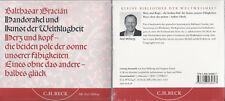 Handorakel und Kunst der Weltklugheit - Audio-CD - Balthasar Gracián - NEU & OVP