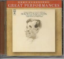 Sony Classical Great Performances HOROWITZ PLAYS CHOPIN Vladimir Horowitz CD