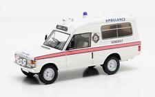 1/43 Matrix Range Rover Herbert Lomas Somerset Ambulance Service White 1972