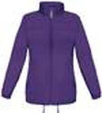 Cappotti e giacche da donna parke viola con cerniera