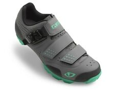 Giro Manta R Cycling Shoe Charcoal/Turquoise Size 38 - Brand New