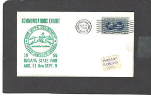 1955 COMMUNICATION EXHIBIT-POST OFFICE DEPT INDIANAPOLIS,IND SEP 4-1955