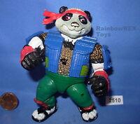 PANDA KHAN 1990 VINTAGE TMNT Teenage Mutant Ninja Turtles