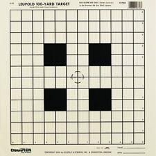 NEW! Champion NRA Sight-In GA-53 100-yard Rifle Scope Tagboard Target (Pac 40746