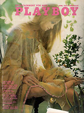 PLAYBOY April 1972 Erotic Art, Jack Nicholson Intvw-Click to see Index-Free S&H!
