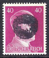 GERMANY 520 1944 SCHWÄRZUNGEN FLÖHA C1 OVERPRINT SIGNED OG NH U/M F/VF