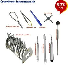 Orthodontie Pince Support Castroviejo Jauge Morsure Bâton Ortho Pincettes Ce