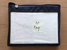 Priscilla Presley King Bedskirt Dust Ruffle-from Priscilla Presley estate sale