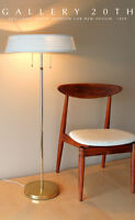 ICONIC! 1949 PHILIP JOHNSON FLOOR LAMP! MOMA MID CENTURY MODERN 50S ATOMIC RETRO
