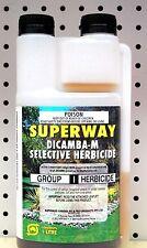 SUPERWAY DICAMBA-M SELECTIVE HERBICIDE (DICAMBA + MCPA) 1LTR