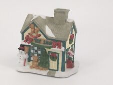 Partylite Toy Shop Christmas House Village Decoration 1 P0299 Candle Snow