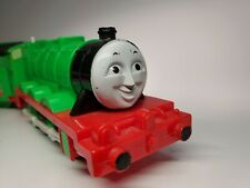 """Tomy Trackmaster Thomas and Friends """"Henry"""" with Red Express Coaches"""