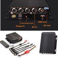 4CH Mini CCTV Security HD Realtime Audio /Camera High Remote SW-0001A