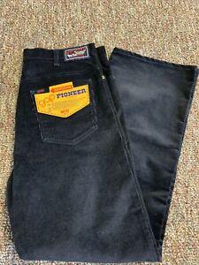 Deadstock Vintage Gap Pioneer Corduroy Boot Cut Mens Pants Size 34 x 29 60s 70s